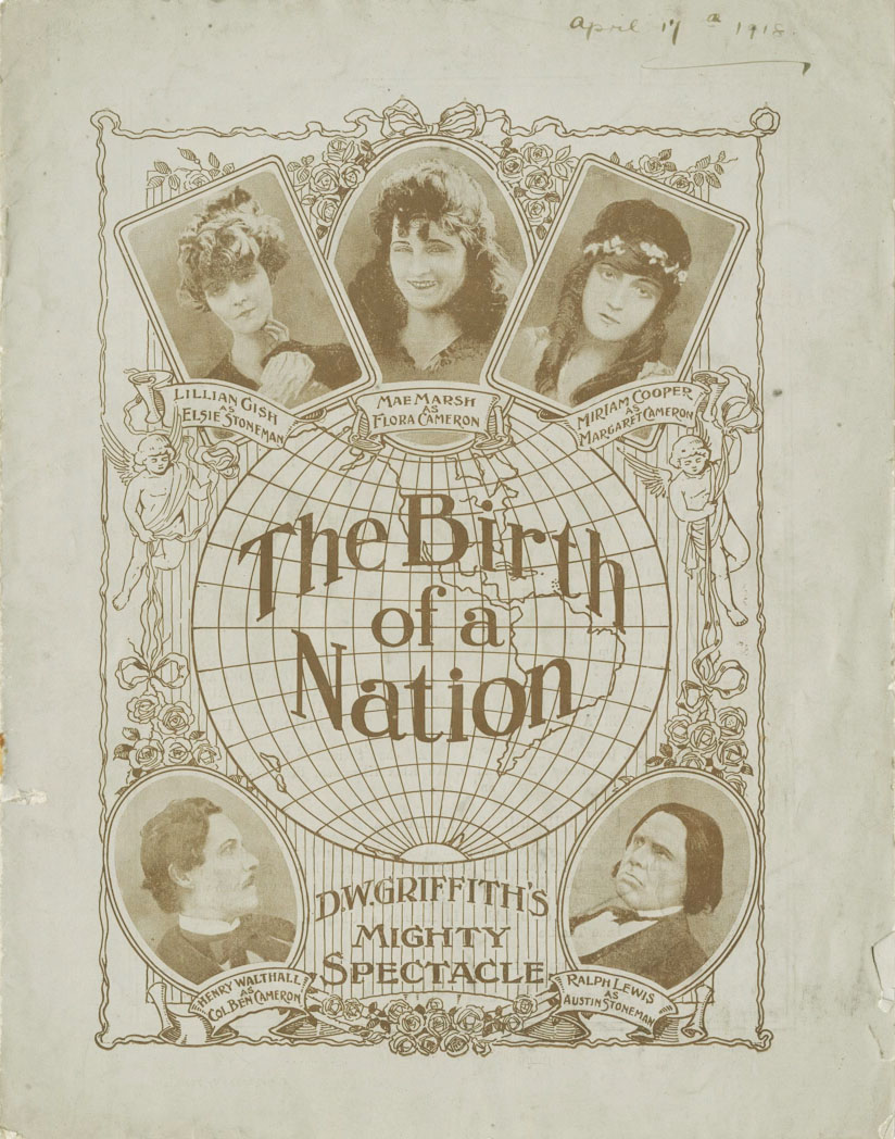 The Birth of a Nation (1915) UK programme, courtesy of Patrick Stanbury