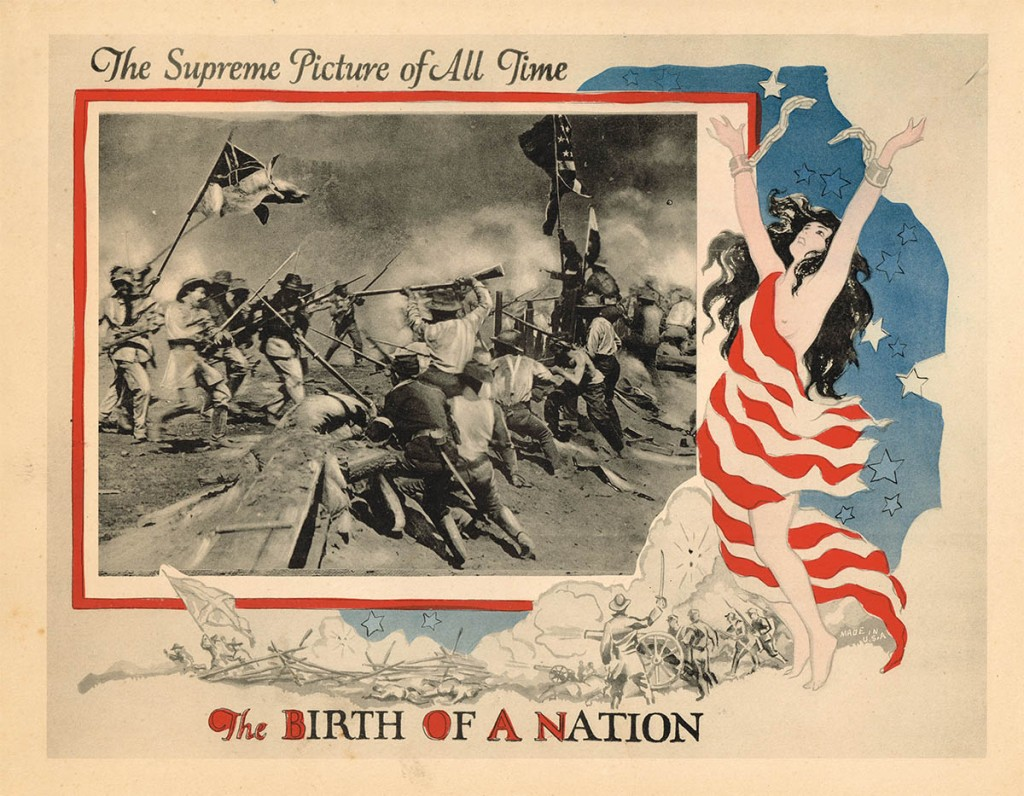 The Birth of a Nation (1915) US 1921 reissue lobby card