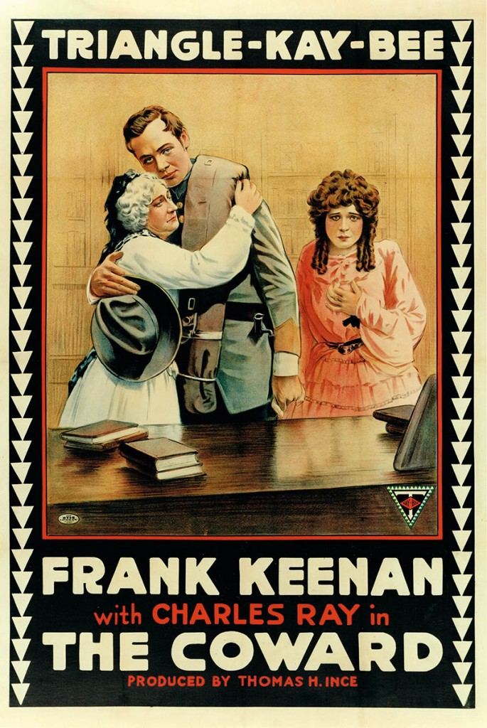 The Coward (1915) US poster
