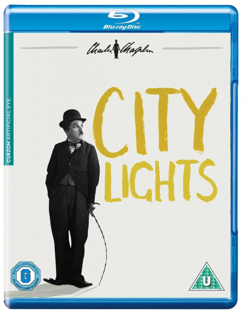 City Lights (1931) UK Artificial Eye Blu-ray
