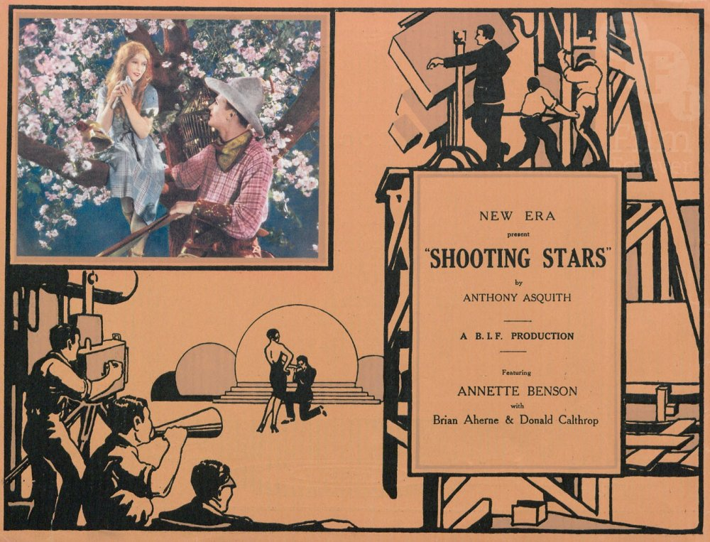 Shooting Stars (1928) pressbook cover