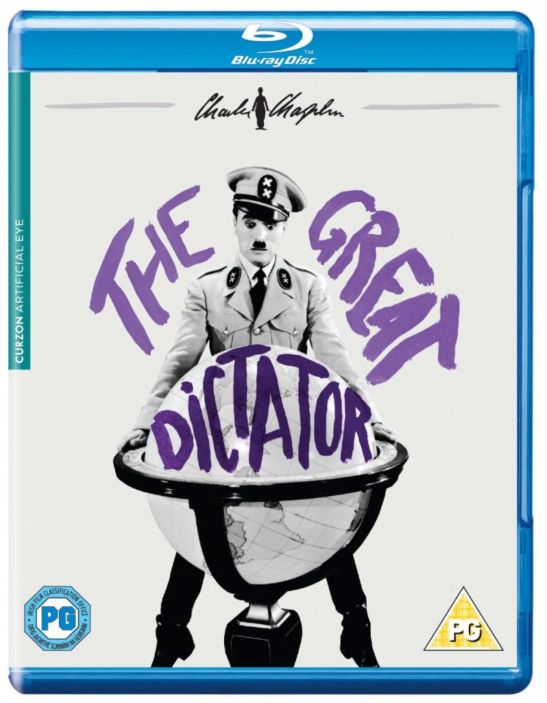 The Great Dictator (1940) UK Artificial Eye Blu-ray