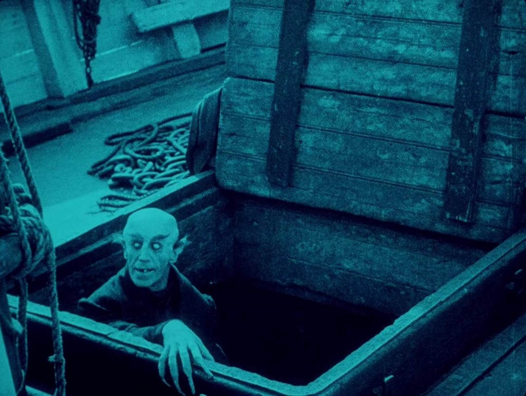 Nosferatu (1922) UK BFI Blu-ray, Orlok stalks the ship