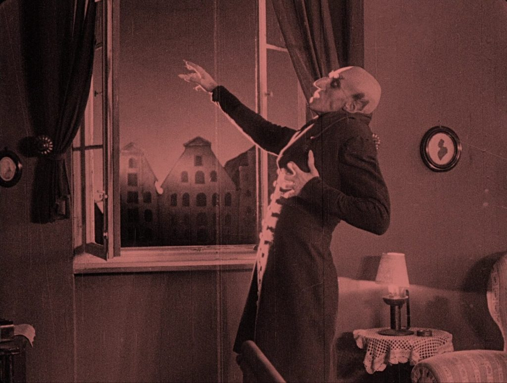 Nosferatu (1922) UK Eureka-Masters of Cinema Blu-ray, Orlok's death