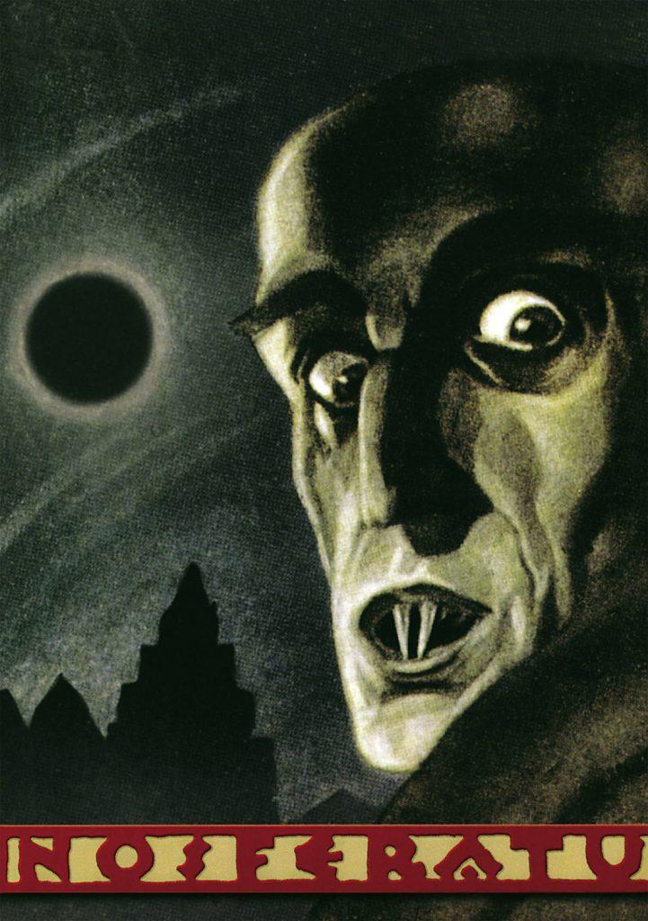 Nosferatu (1922) promo art by Albin Grau