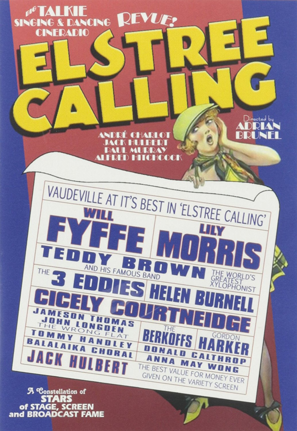 Elstree Calling (1930, part-dir. Alfred Hitchcock) UK poster
