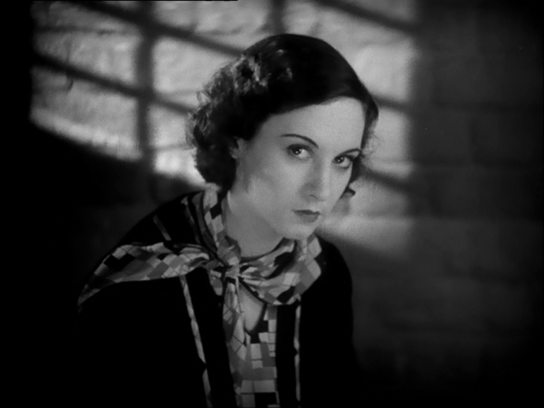 Norah Baring in Murder! (1930, dir. Alfred Hitchcock) UK Studiocanal DVD
