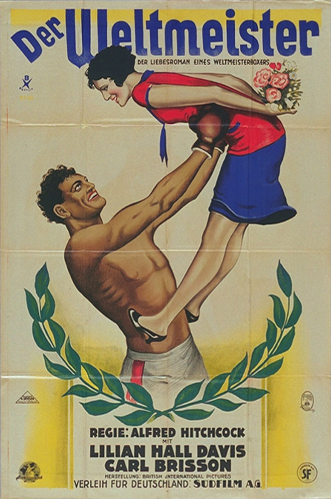 The Ring aka Der Weltmeister (The World Champion,1927) German poster