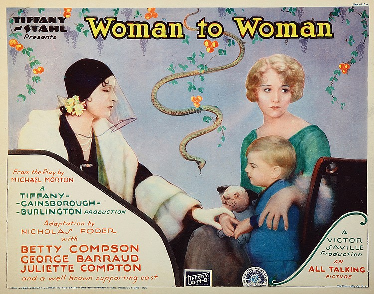 Woman to Woman (1929) with Betty Compson, US lobby card