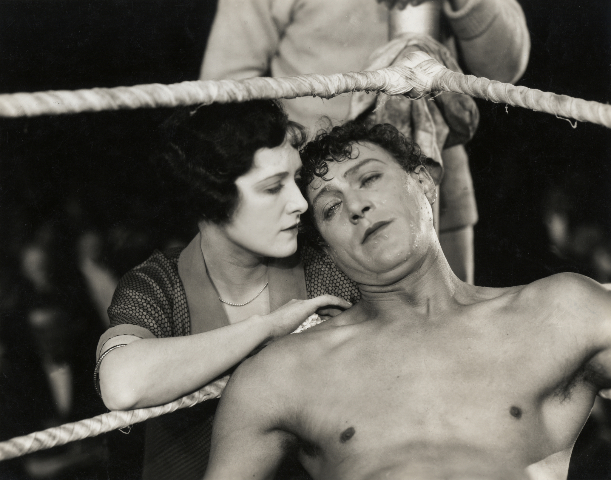 Lillian Hall-Davis and Carl Brisson in The Ring (1927, dir. Alfred Hitchcock)