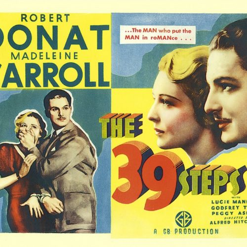 Alfred Hitchcock Collectors' Guide: The 39 Steps (1935)