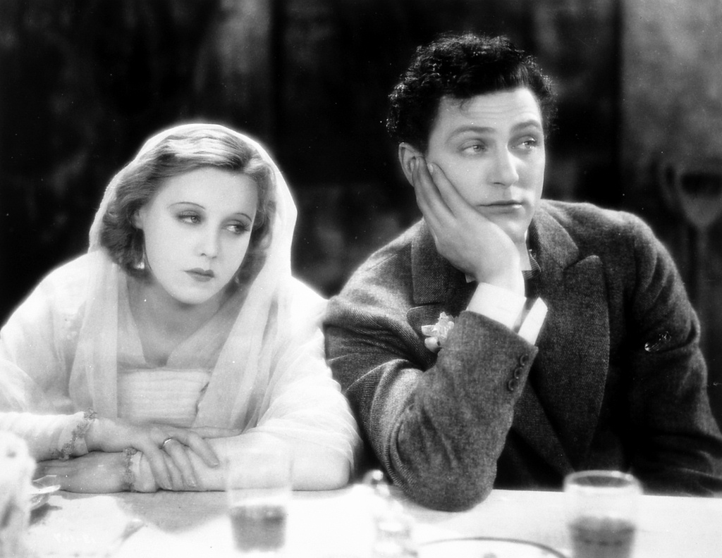 Anny Ondra and Carl Brisson in The Manxman (1929, dir. Alfred Hitchcock)