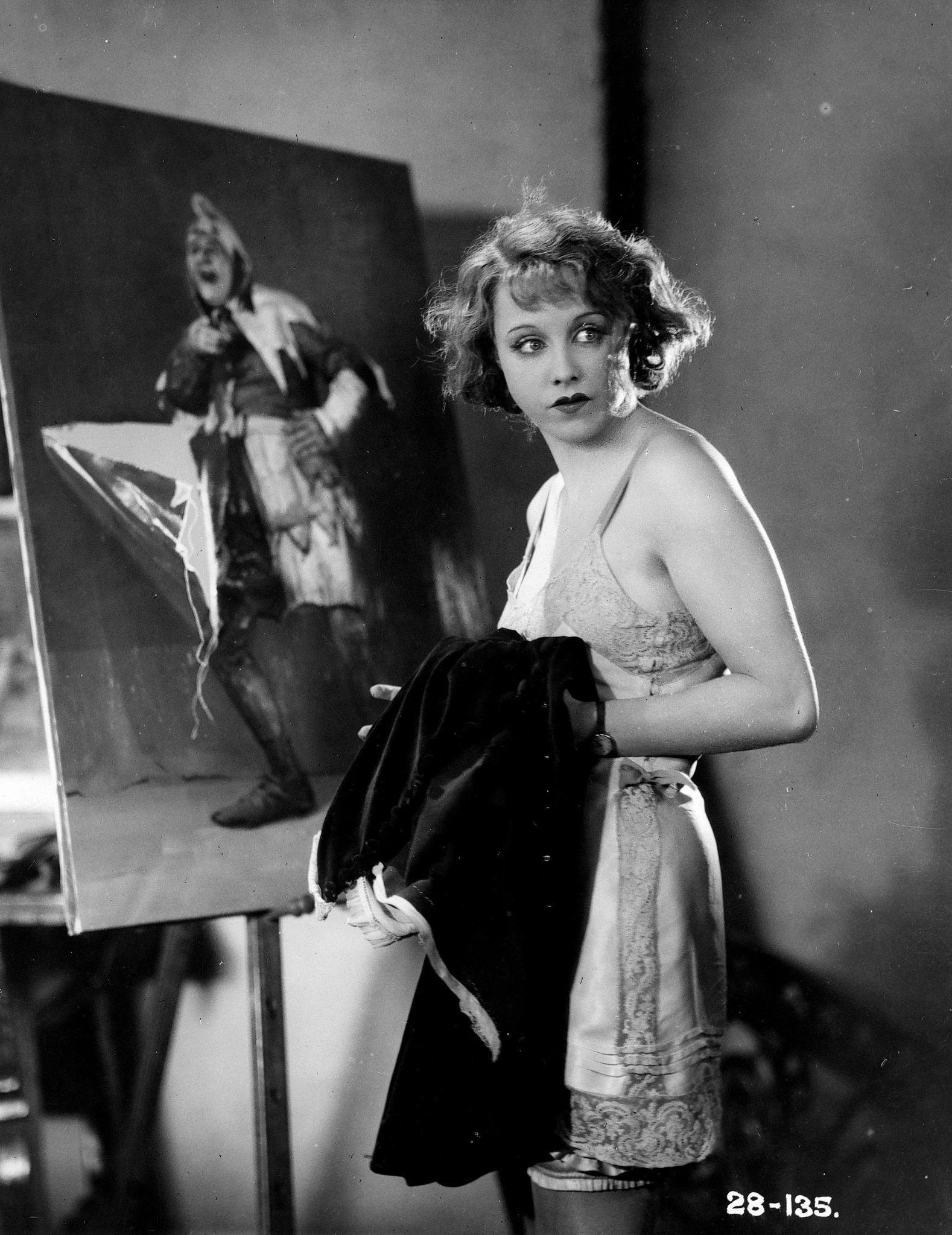 Anny Ondra in Blackmail (1929, dir. Alfred Hitchcock)