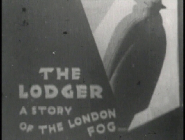 The Lodger (1926, dir. Alfred Hitchcock) UK GMVS/Waterfall bootleg DVD screenshot