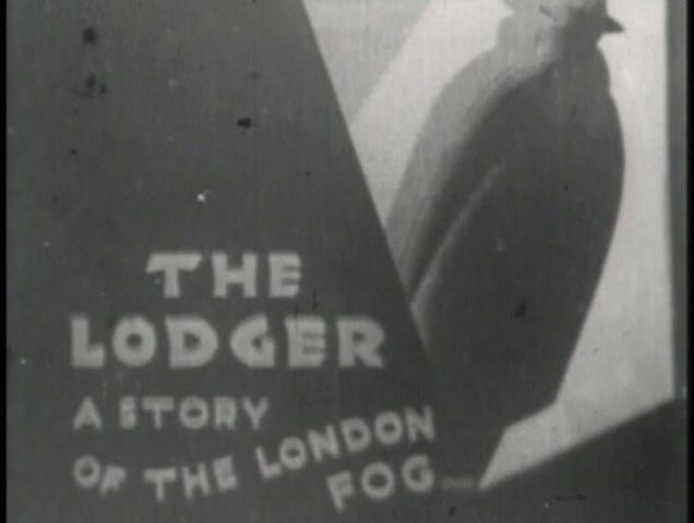 The Lodger (1926, dir. Alfred Hitchcock) UK GMVS/Waterfall bootleg DVD screenshot
