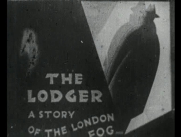 The Lodger (1926, dir. Alfred Hitchcock) US St. Clair Vision bootleg DVD screenshot