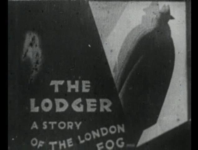 The Lodger (1926, dir. Alfred Hitchcock) US St. Clair Vision bootleg DVD screenshot