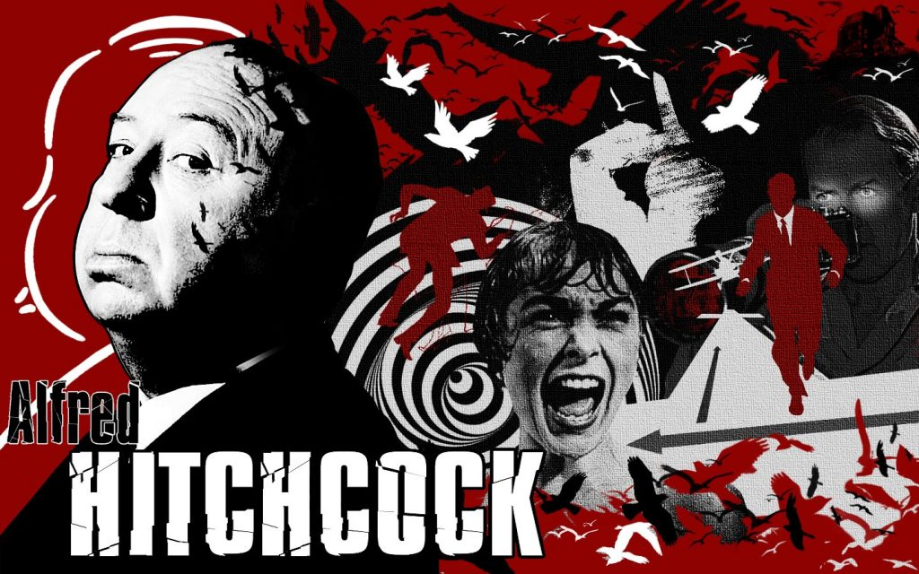 Alfred Hitchcock collage