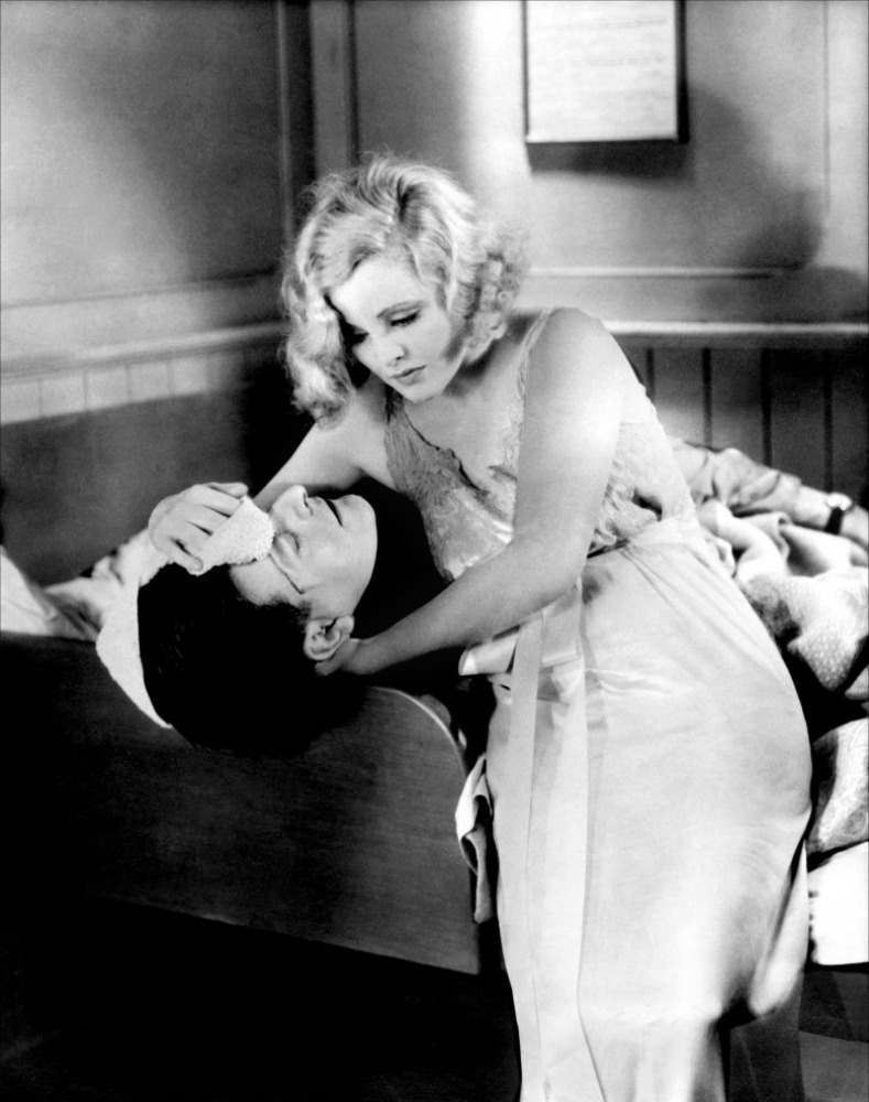 Henry Kendall and Joan Barry in Rich and Strange (1931, dir. Alfred Hitchcock)