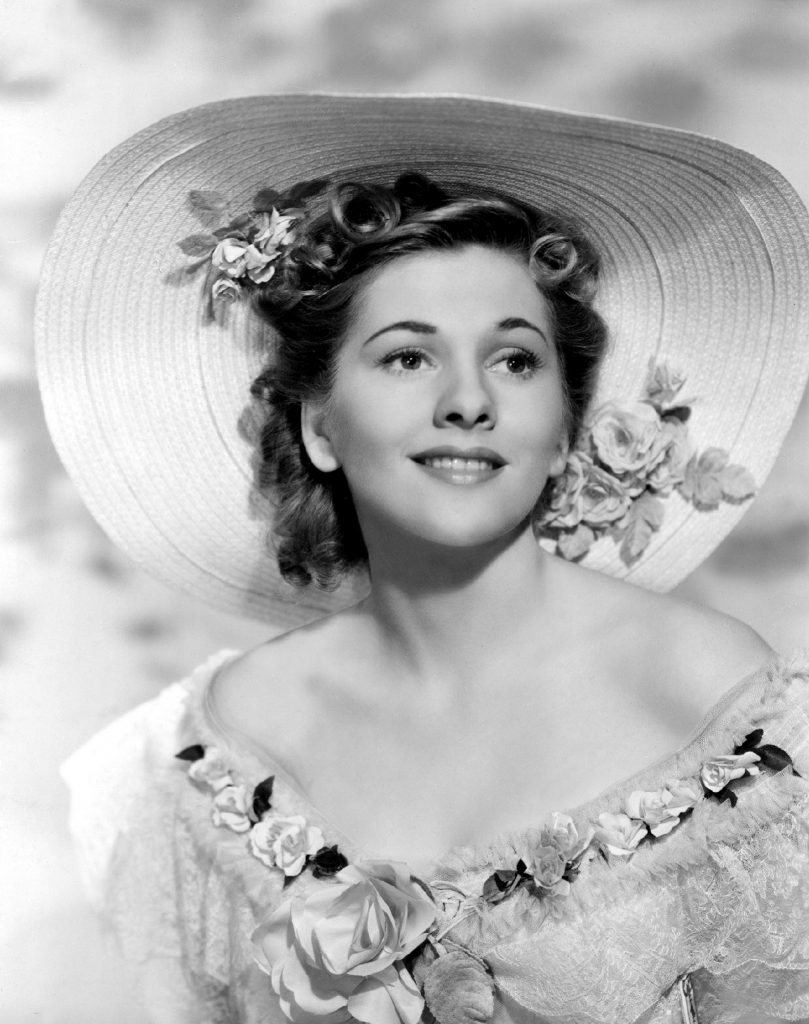 Joan Fontaine in Rebecca (1940, dir. Alfred Hitchcock). All of Hitch's US films, commencing with this one, have always been copyrighted.