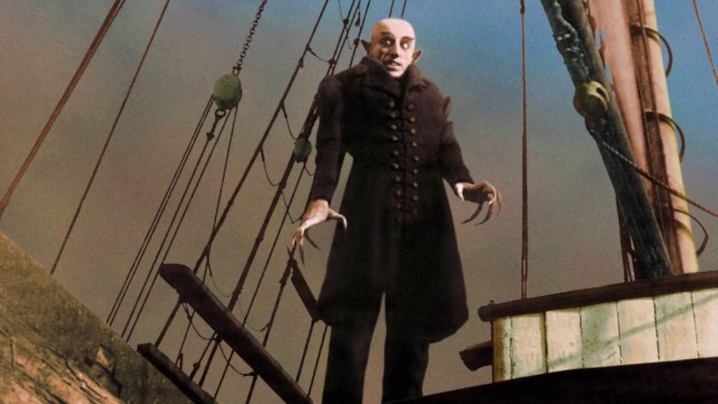Max Schreck as Count Orlok in Nosferatu (1922)