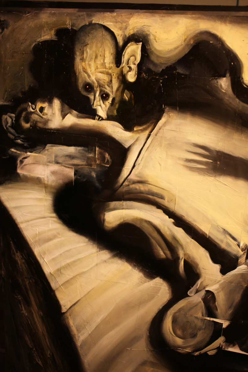 Nosferatu (1922) by Dave McKean, 2010