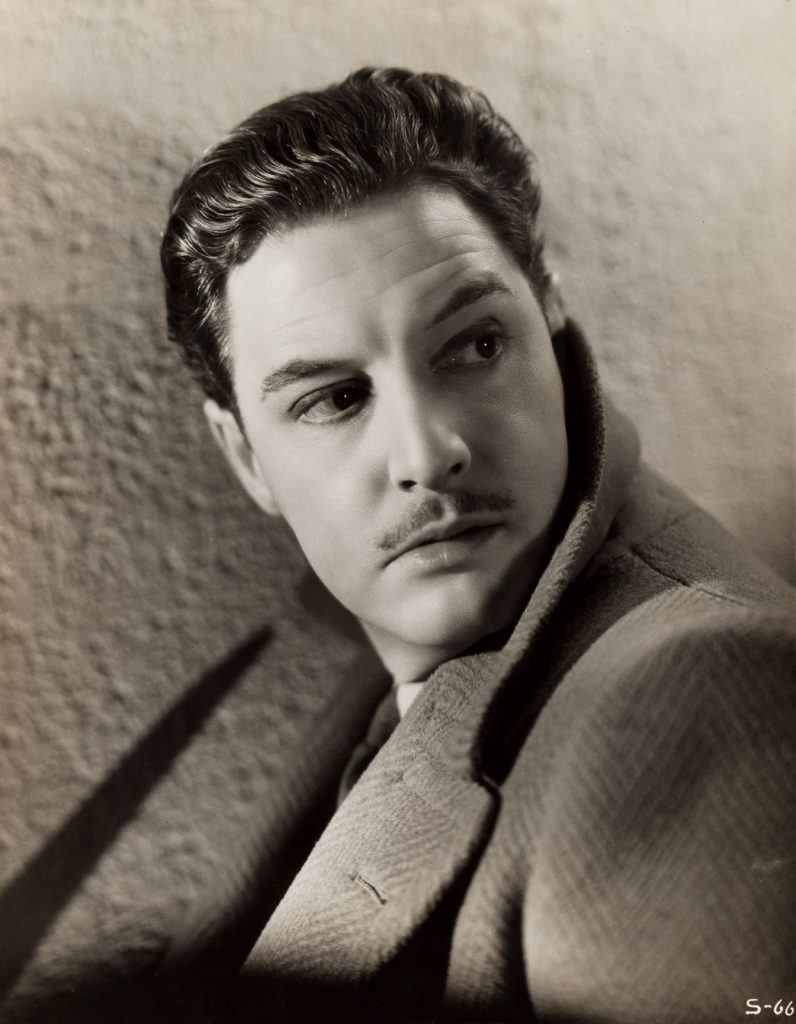 Robert Donat in The 39 Steps (1935, dir. Alfred Hitchcock)