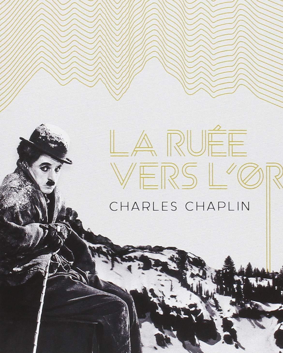 The Gold Rush aka La Ruée vers l'or (1925) French mk2/Potemkine Films Blu-ray