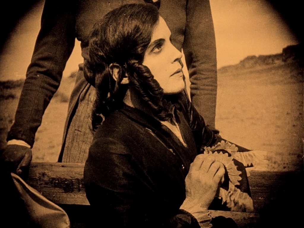 Greta Schröder in Nosferatu (1922) UK BFI Blu-ray, on beach