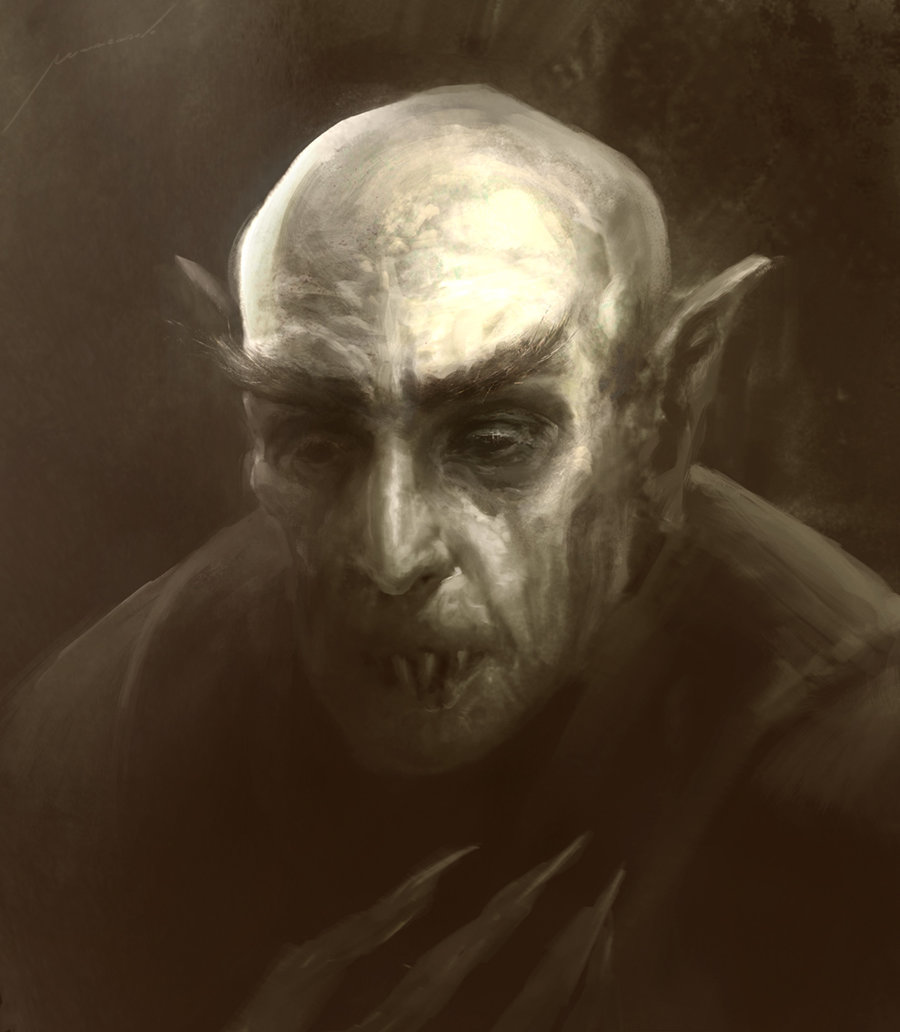 Count Orlok by Antonio J. Manzanedo, 2013. At least this bloodsucker is only imaginary.