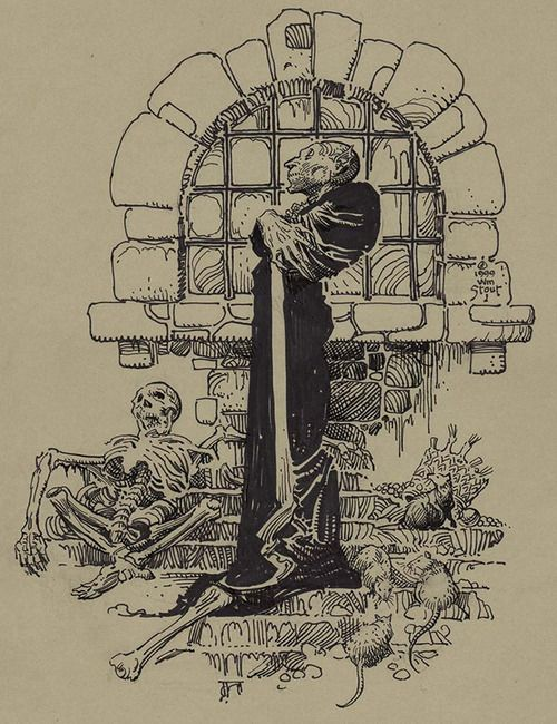 Nosferatu (1922) by William Stout, 1999