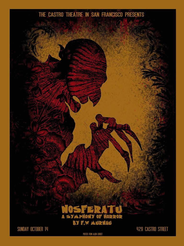 Nosferatu (1922) poster by David O'Daniel aka Alien Corset, 2010