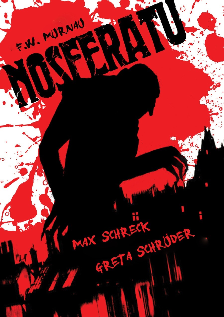 Nosferatu (1922) poster by João Ricardo aka JoãoMachay, 2009