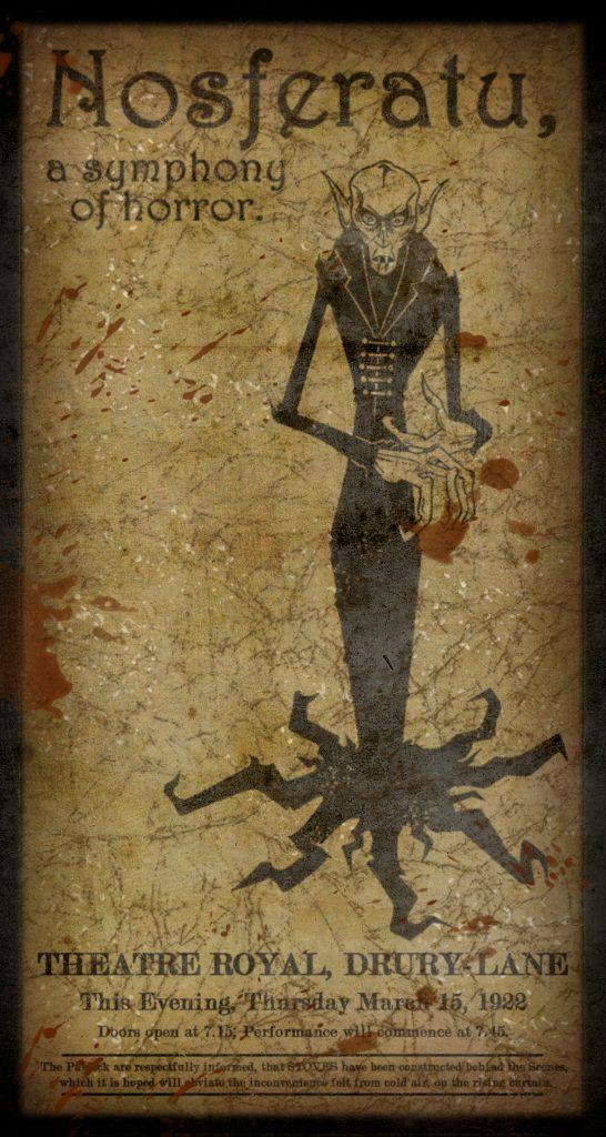 Nosferatu (1922) poster by PerfktDrug, 2008