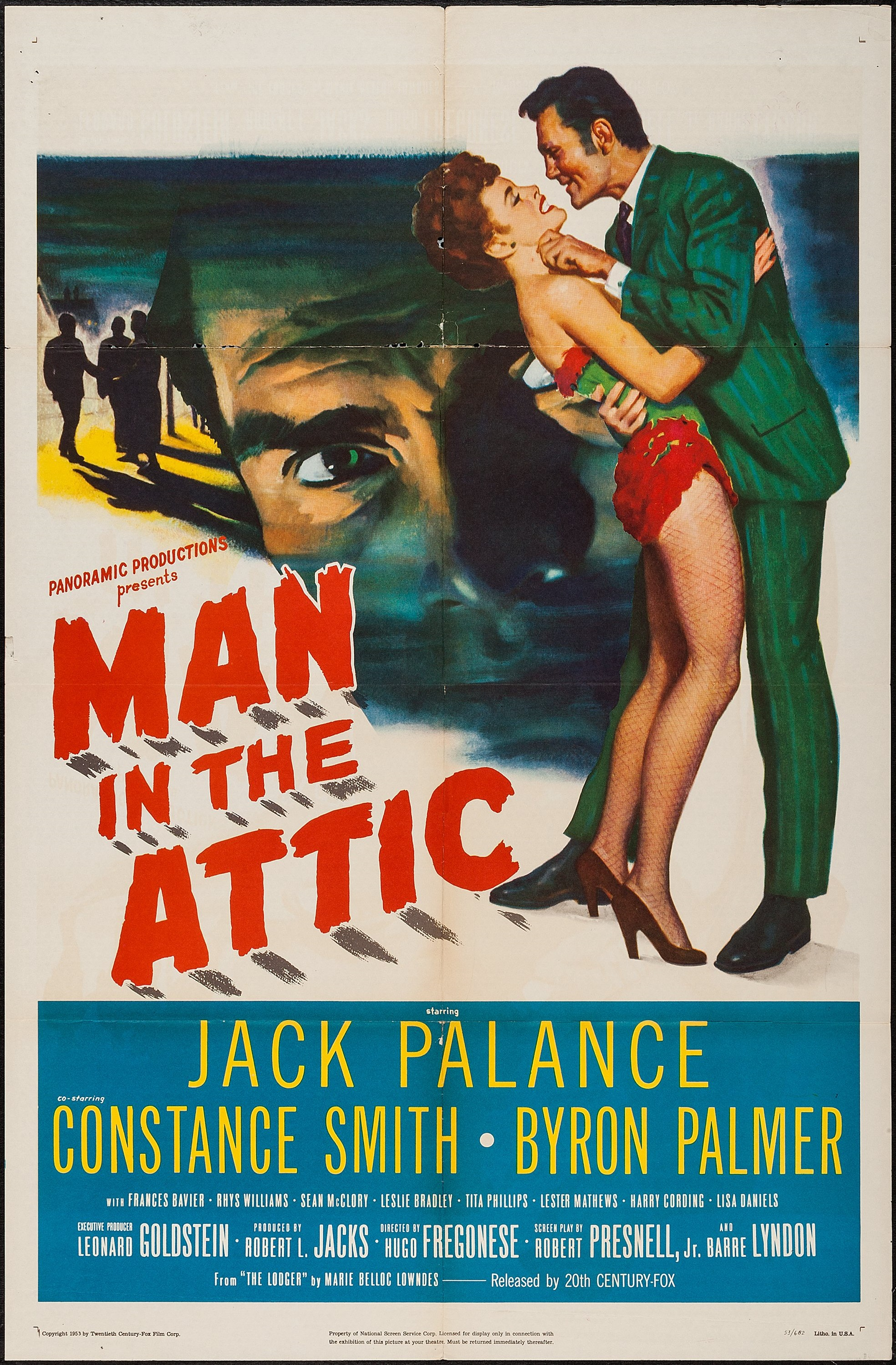 Man in the Attic (1953) US poster