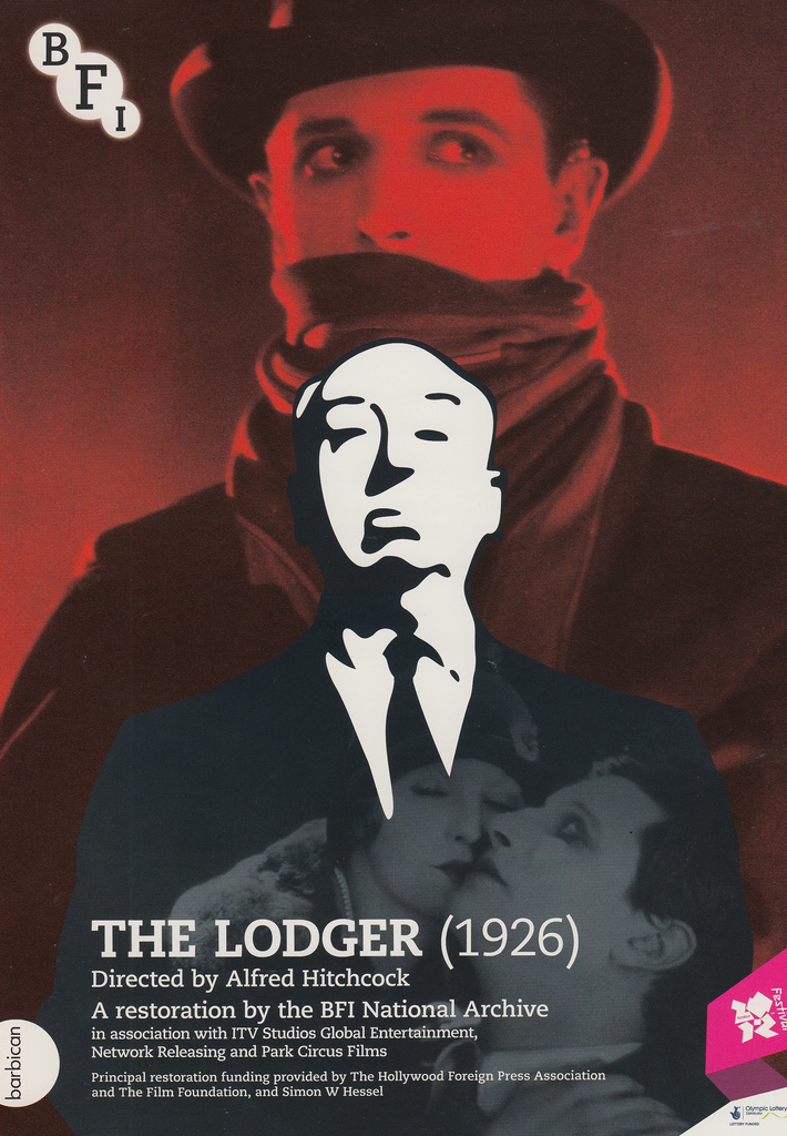 The Lodger (1926, dir. Alfred Hitchcock) BFI poster, 2012