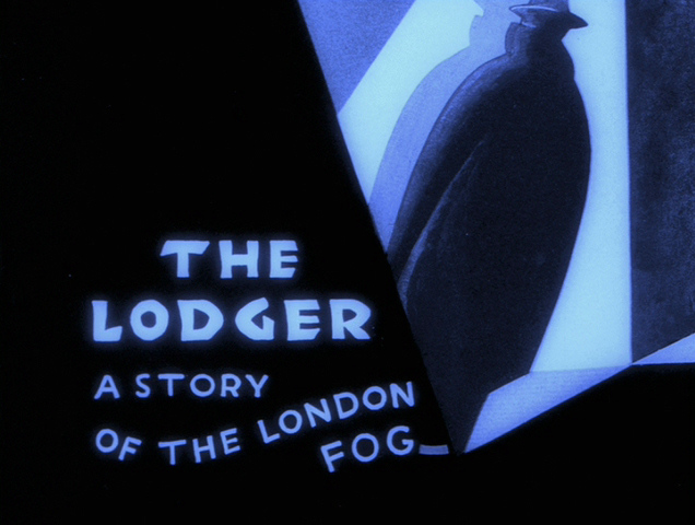 The Lodger (1926, dir. Alfred Hitchcock) US MGM DVD, restored version 2