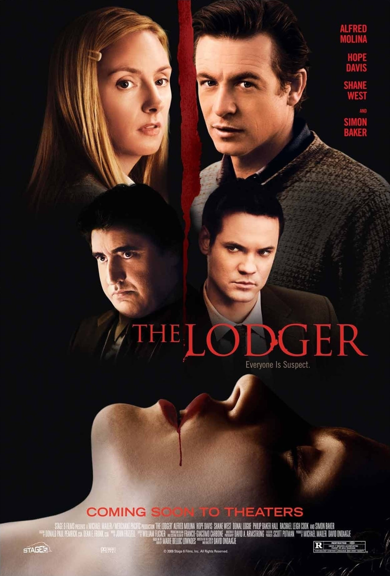The Lodger (2009) US poster