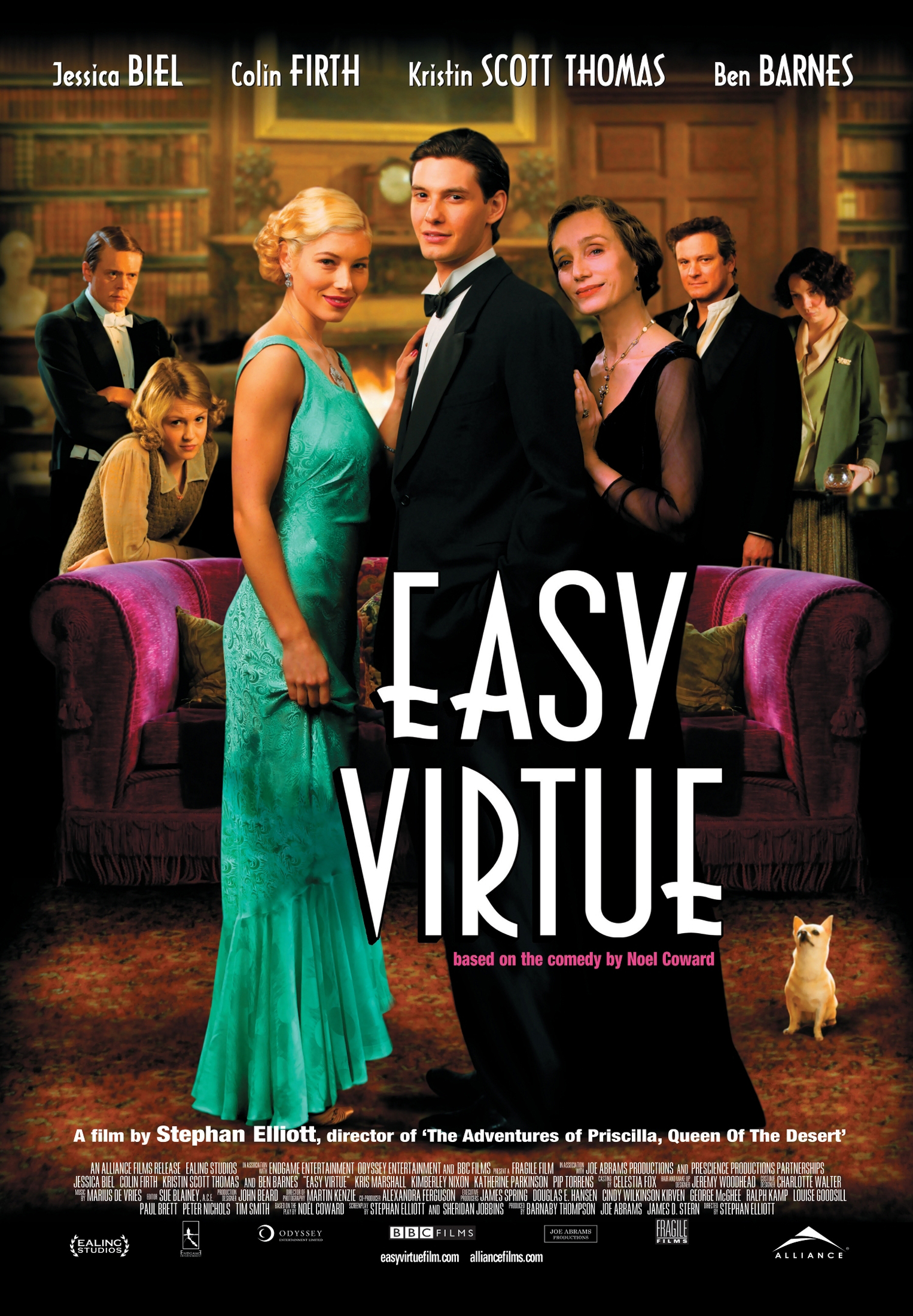 Easy Virtue (2008) Canadian poster