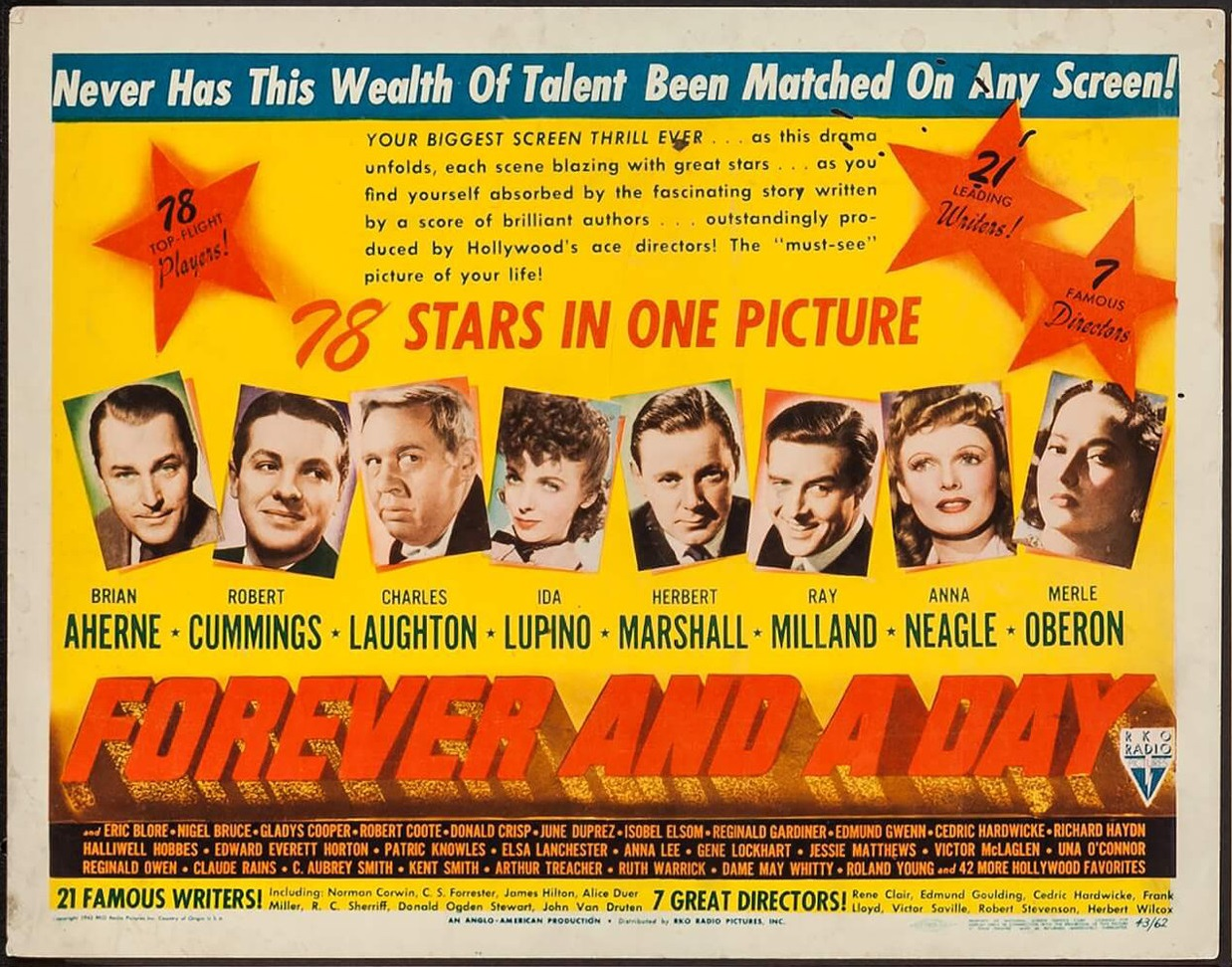 Forever and a Day (1943) US lobby card
