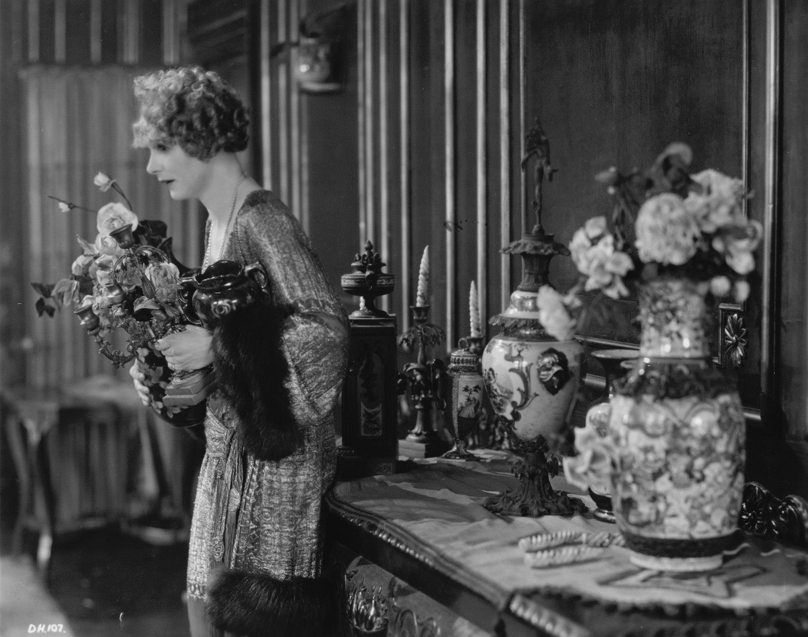 Isabel Jeans in Downhill (1927, dir. Alfred Hitchcock)