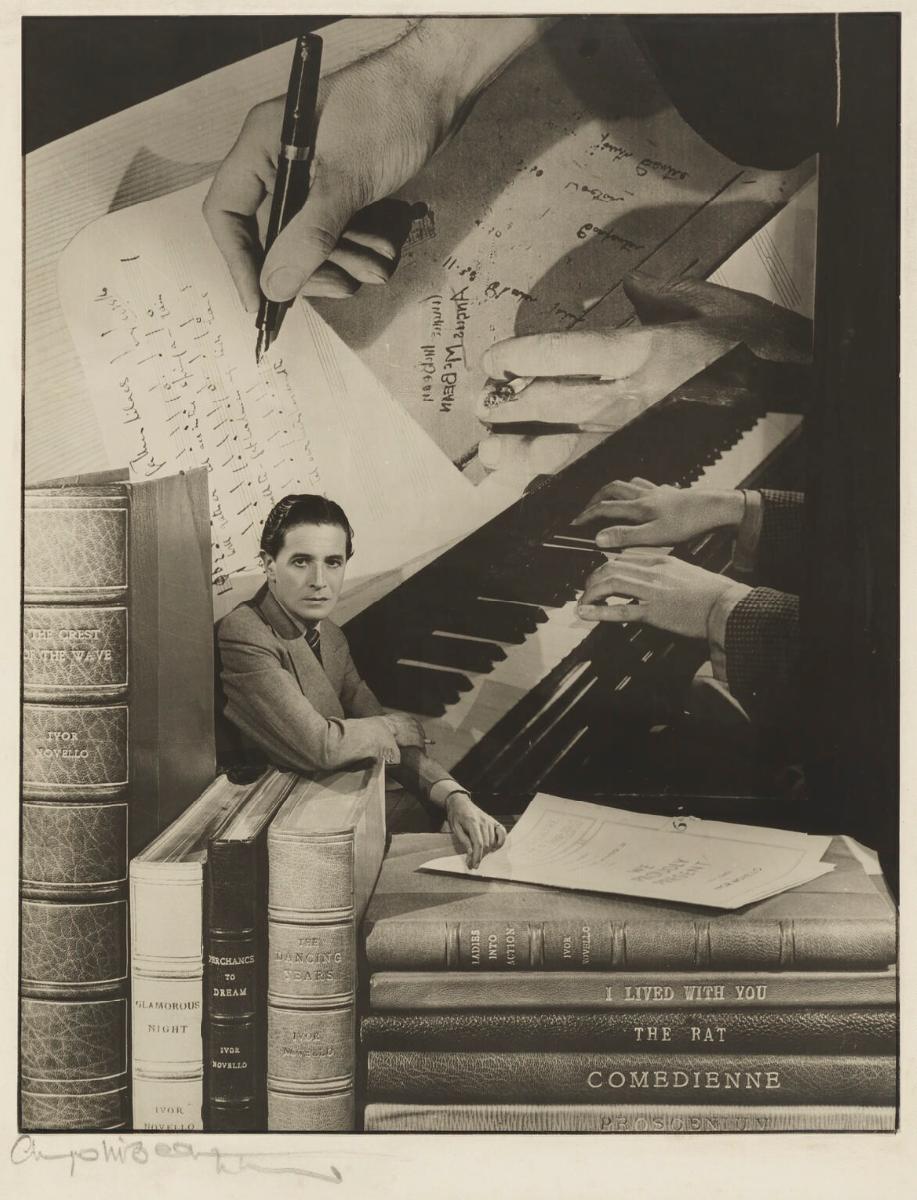 Ivor Novello by Angus McBean, 1947