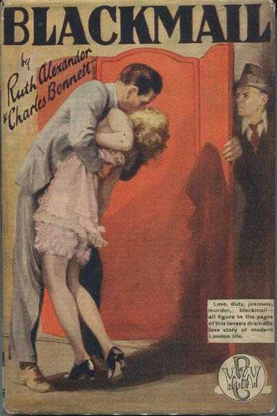 Blackmail novelisation, US edition (World Wide Publishing Co., NY, 1929)