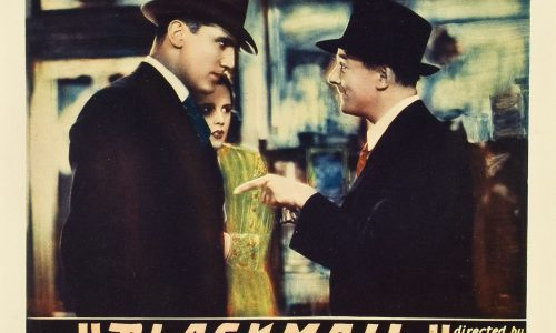 Alfred Hitchcock Collectors' Guide: Blackmail (1929), Part 2