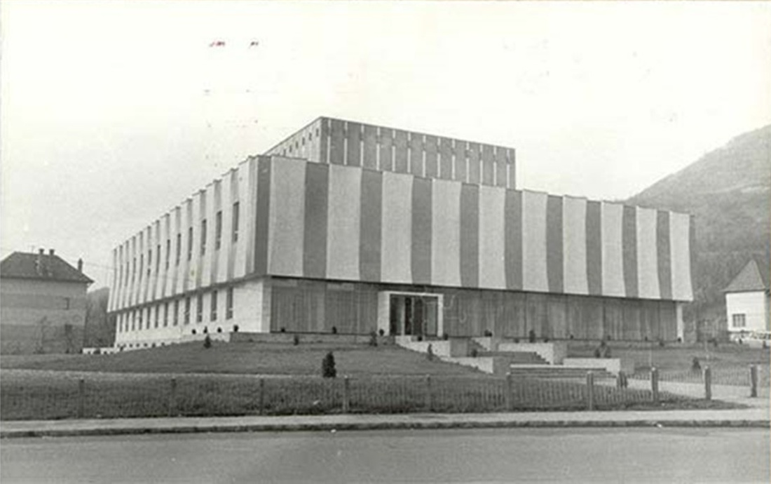 Radio Hall Cluj, Romania, opened in December 1967