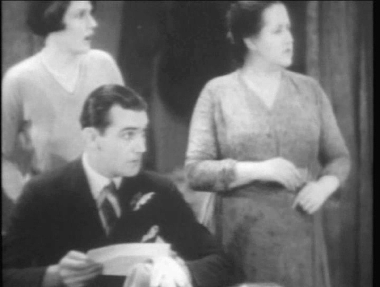 Phyllis Konstam, John Longden and Sara Allgood in Juno and the Paycock (1930, dir. Alfred Hitchcock) French Universal DVD