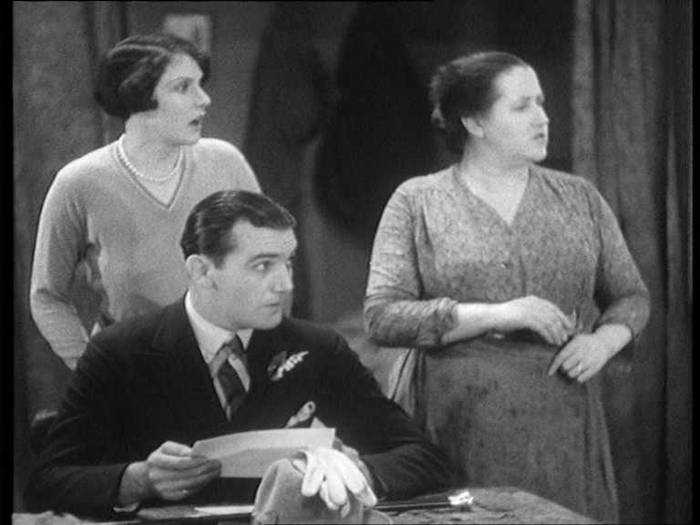 Phyllis Konstam, John Longden and Sara Allgood in Juno and the Paycock (1930, dir. Alfred Hitchcock) UK Film First DVD