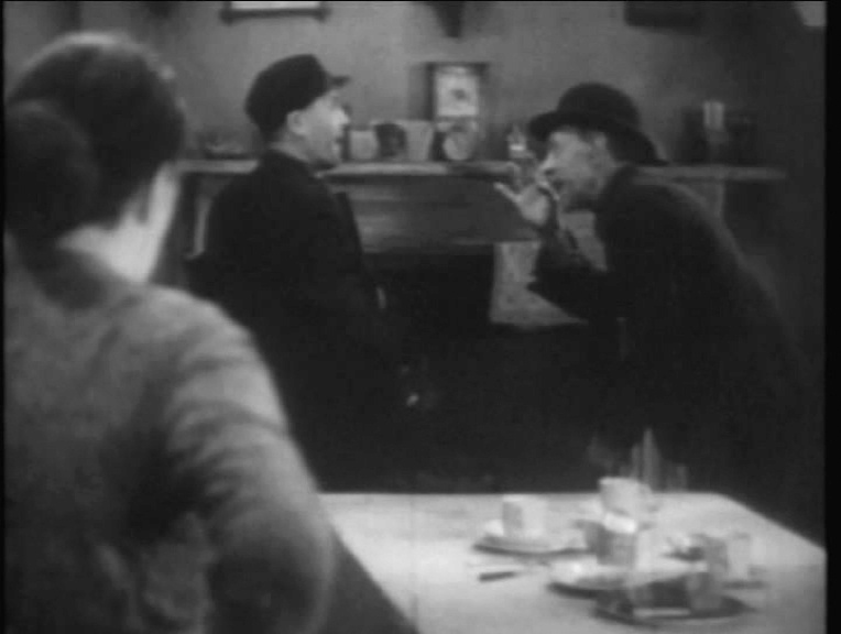 Sara Allgood, Edward Chapman and Sidney Morgan in Juno and the Paycock (1930, dir. Alfred Hitchcock) French Universal DVD