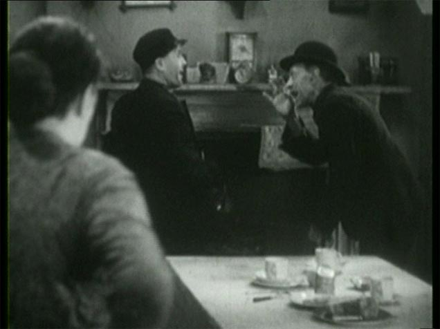 Sara Allgood, Edward Chapman and Sidney Morgan in Juno and the Paycock (1930, dir. Alfred Hitchcock) Spanish Suevia Films bootleg DVD