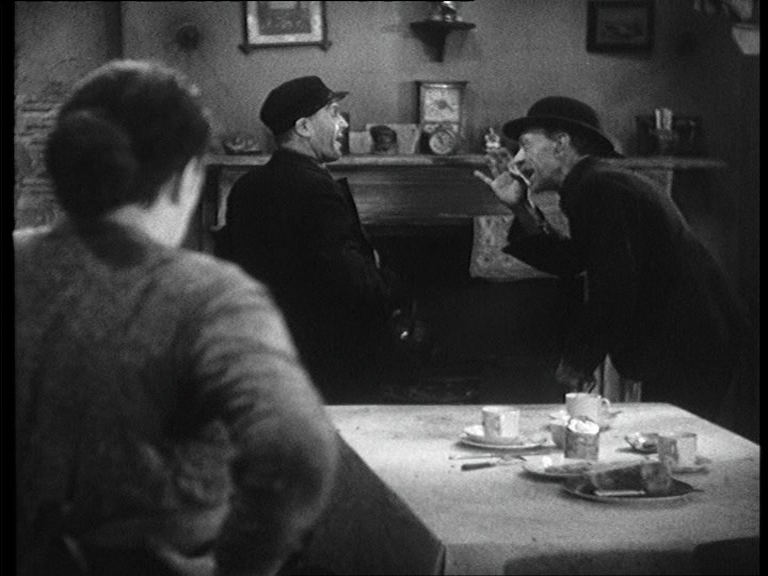 Sara Allgood, Edward Chapman and Sidney Morgan in Juno and the Paycock (1930, dir. Alfred Hitchcock) UK Film First DVD